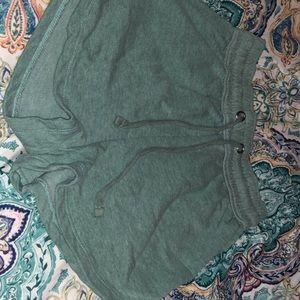 H&M turquoise shorts